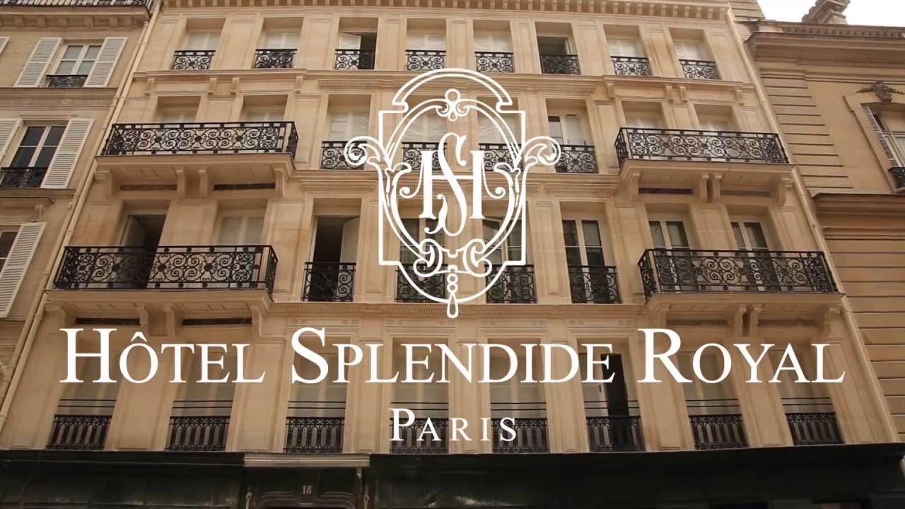Hotel Splendide Royal Paris Paris France