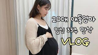 26살 주부, 둘째임신 33주차 육아일상 ( 태동검사 …