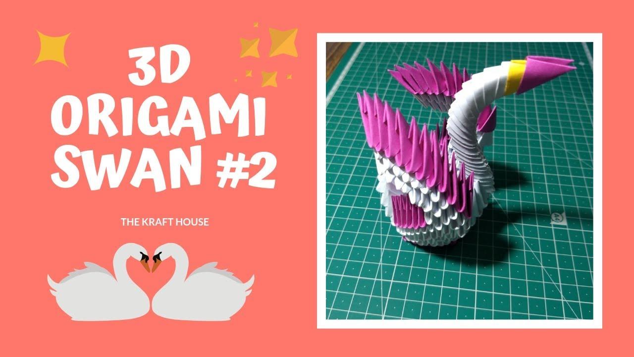 3D Origami White Swan by jchau on DeviantArt | Origami white ... | 720x1280