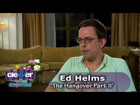Ed Helms 'The Hangover Part 2' Interview