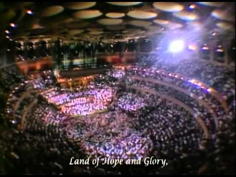 """Land of Hope and Glory"" from 'Last Night of the Proms 1990' (with Lyrics)"