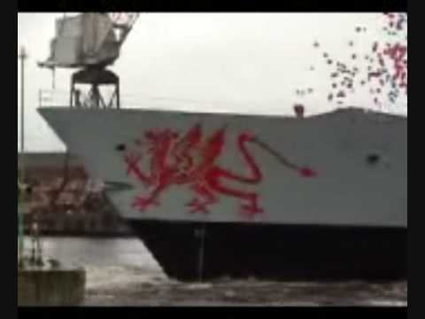 HMS Dragon Launch