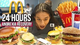 ONLY EATING MCDONALDS For 24 HOURS CHALLENGE (harder than I expected)