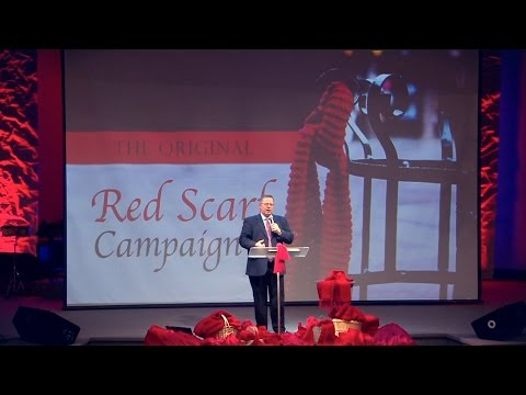 """The Original Red Scarf Campaign"" – Pastor Raymond Woodward"