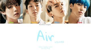 WINNER (위너) - AIR [Colour Coded Lyrics Han/Rom/Eng]