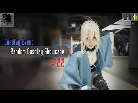 [4k UHD] Random Cosplay Showcase #22 (Tamamo, Kanna, 2B, Okita Souji, Tsurumaru Kuninaga, Star Trek)