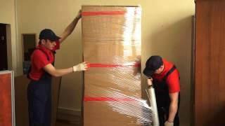 Квартирный и офисный переезд. Упаковка шкафа.(, 2014-04-24T21:32:29.000Z)