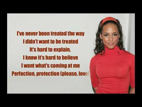 Alicia Keys - Raise A Man (Lyrics)