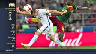 Chile venció a Camerún