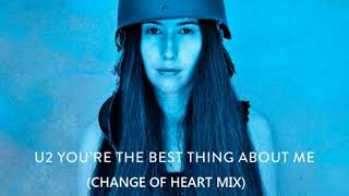 U2 You 39 Re The Best Thing About Me Change Of Heart Mix