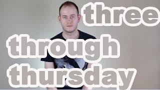 КАК ПРОИЗНОСИТЬ three, Thursday, through, third в английском