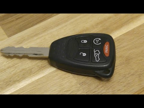 Jeep / Dodge / Chrysler Key Fob Battery Replacement – DIY