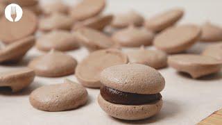 Cheat's Chocolate Macarons