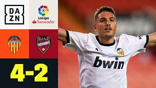Valencia dreht irres Match gegen den Stadtrivalen: Valencia - Levante 4:2 | LaLiga | DAZN Highlights