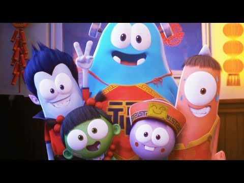Funny Animated Cartoon | Spookiz | Brand New 🎇 New Year Explosion!🎇 | 스푸키즈 | Cartoon For Children
