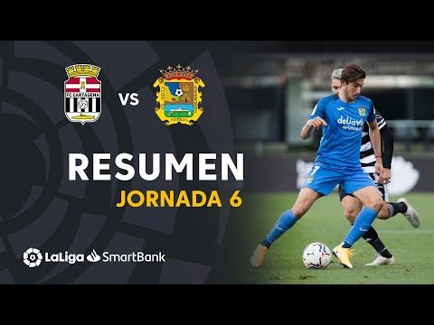 Cartagena CF Fuenlabrada Goals And Highlights