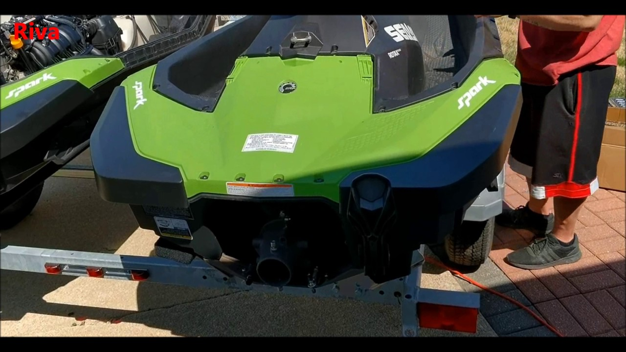 Sea-Doo Spark - Riva Free Flow Exhaust And Water Box vs Stock