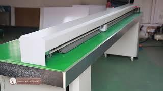Automatic PVC Foam board Cutter/Roll material cutter max 2.4m width