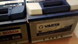 Определяем дату производства аккумуляторов Bosch, Varta, Edcon, Afa, Energizer.