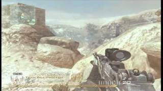 Modern Warfare 2 : Collateral Damage Shot , All Pro Challenge , 2 Headshots 1 bullet | xBLAKx SAVAGE