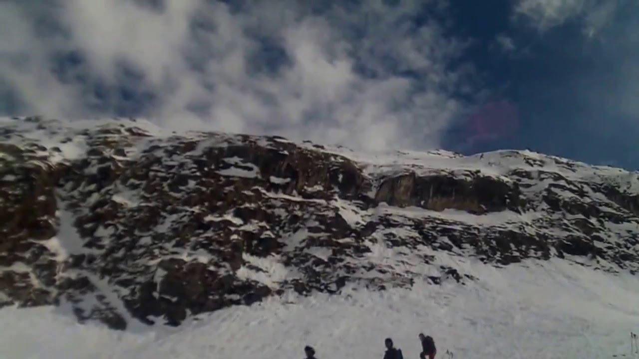 Freestile in neve fresca andalo