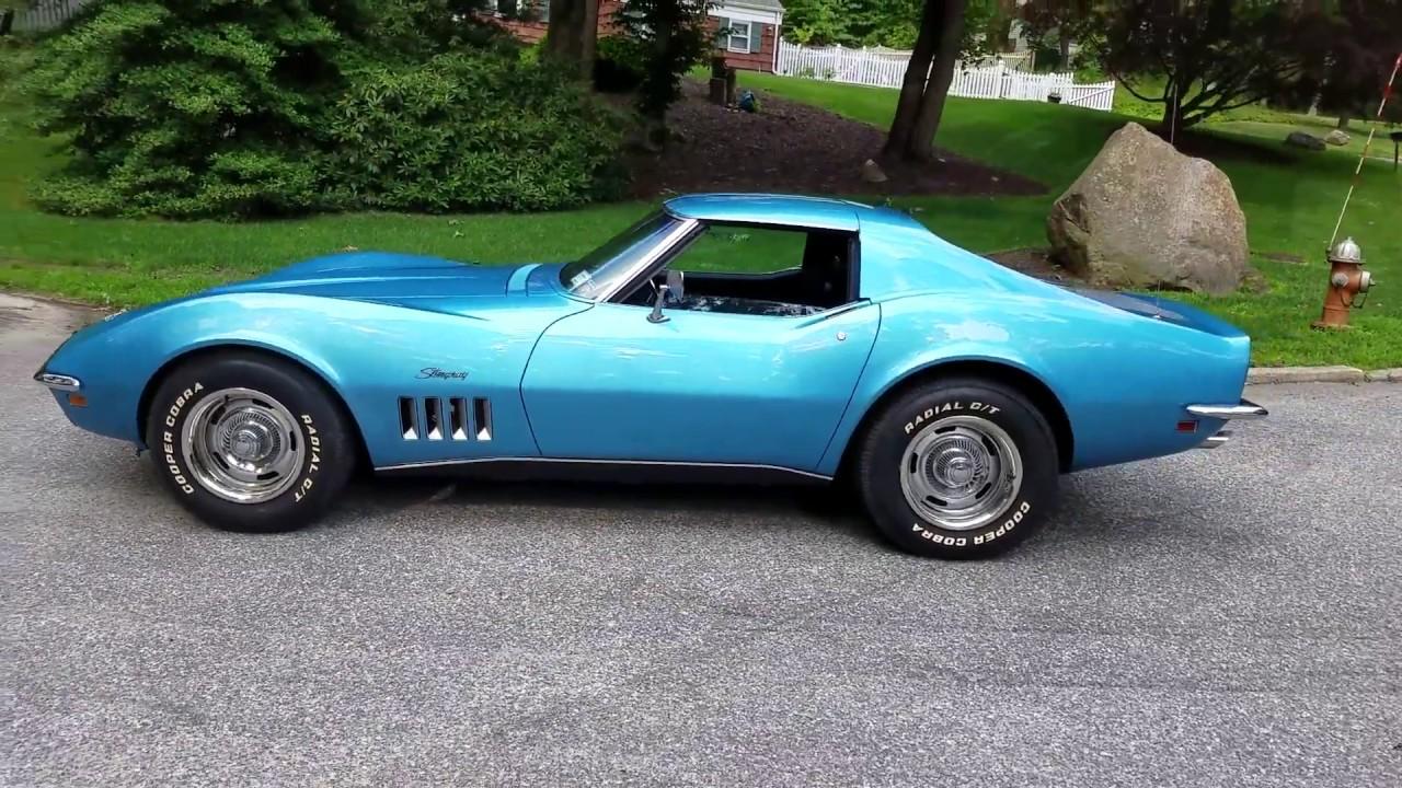 1969 Corvette Coupe For Sale~Lemans Blue~Matching 350 ...