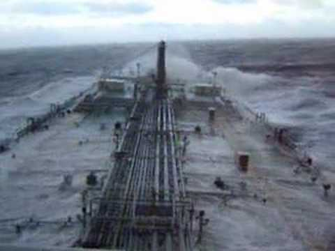 Stena Confidence Rough Weather Footage