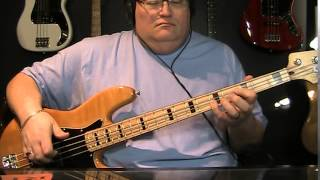 Merle Haggard If We Make It Through December Bass Cover