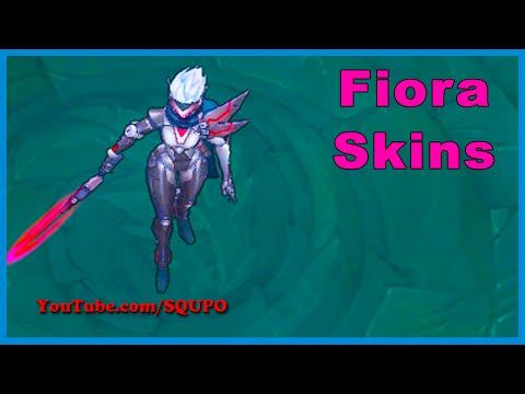 All Fiora Skins (League of Legends)