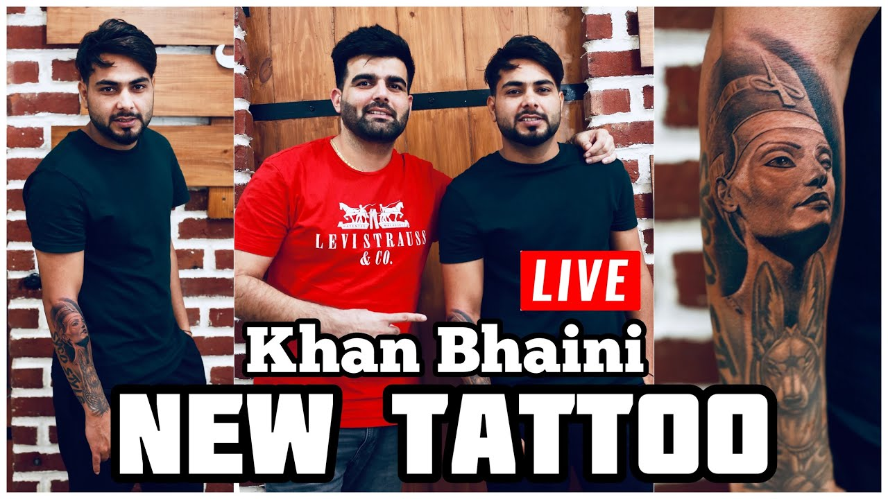 Khan Bhani got a Tattoo Make by Artistgill