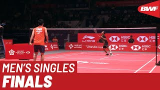 F | MS | Kento MOMOTA (JPN) vs. Anthony Sinisuka GINTING (INA) | BWF 2019