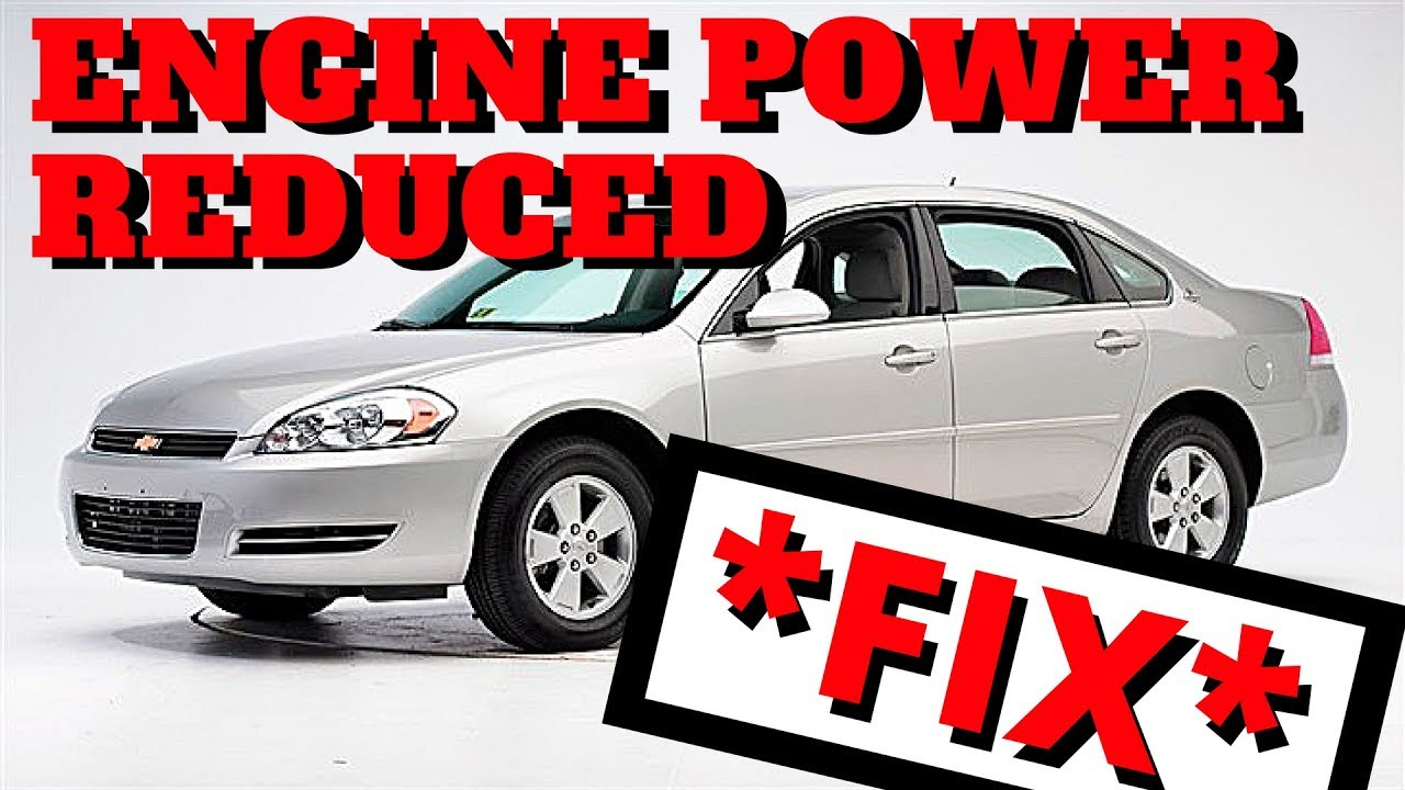 Fix 2006 Chevy Impala Engine Power Reduced Youtube 4 3 V6 Head Diagram