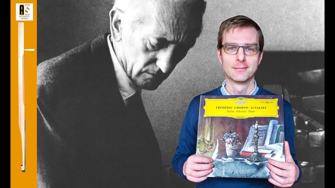 Fr Chopin 14 Valses Stefan Askenase 1964