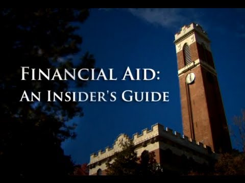 Financial aid: the university insider's guide