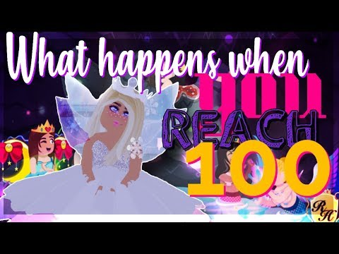 REACHING LVL 100 ROYALE HIGH - This is what happens | ROBLOX