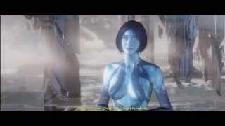Game Cinematic - Halo 4 - Master Chief & Cortana Leave UNSC Infinity