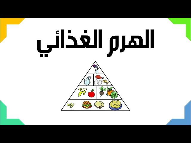 الهرم الغذائي  - العلوم والحياة  - الصف التاسع الأساسي - المنهاج الفلسطيني الجديد 2018
