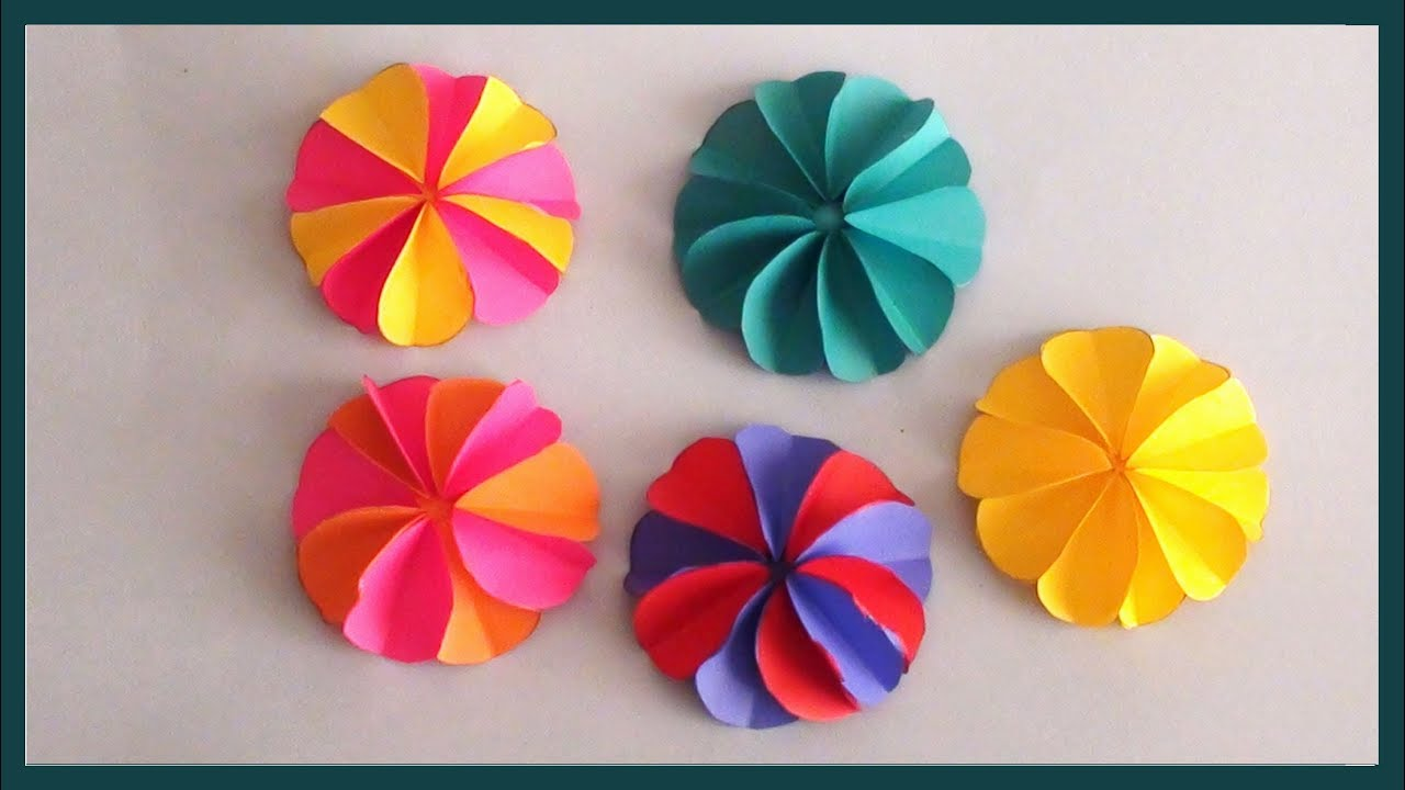 Art Decorating And Crafting Diy Home Room Decoration Ideas Simple Easy Paper Crafting Tutorials