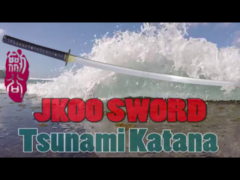 JKOO Tsunami(津波) katana-T10 Steel Review & Destructive Test
