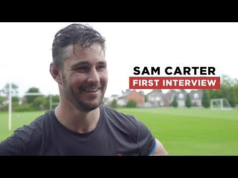 Sam Carter first interview   Welcome to Ulster
