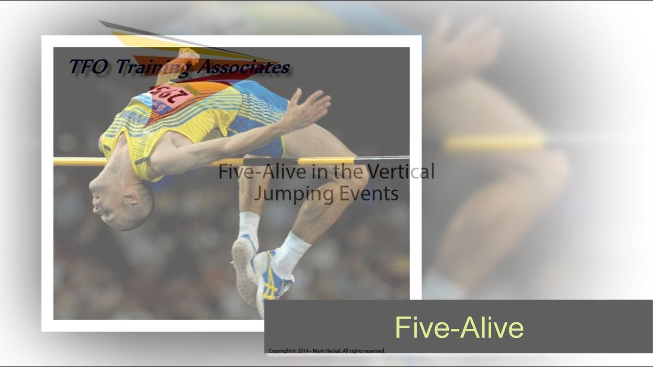 Five Alive In The Vertical Jumping Events