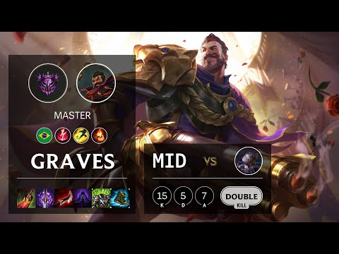 Graves Mid vs Orianna - BR Master Patch 10.16