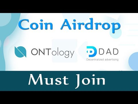 Airdrop - DAD - Ontology Partners with DAD Decentralize Advertising
