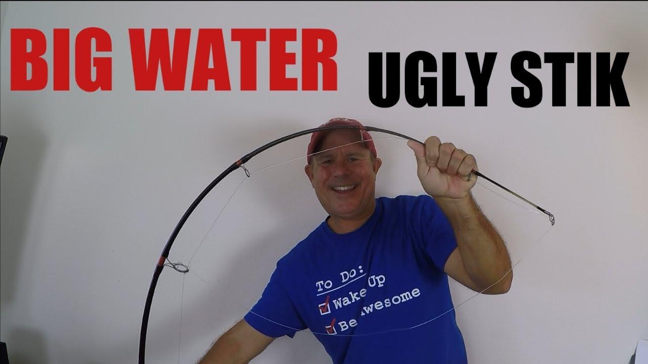 Ugly Stik Bigwater Spinning Combo