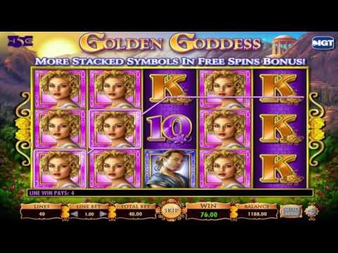 Gratuite machine à sous Golden Goddess de IGT Aperçu vidéo | HEX