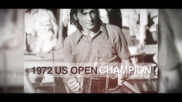 US Open Tennis Championships 50 for 50: Ilie Nastase vs. Arthur Ashe 1972 Final Highlights