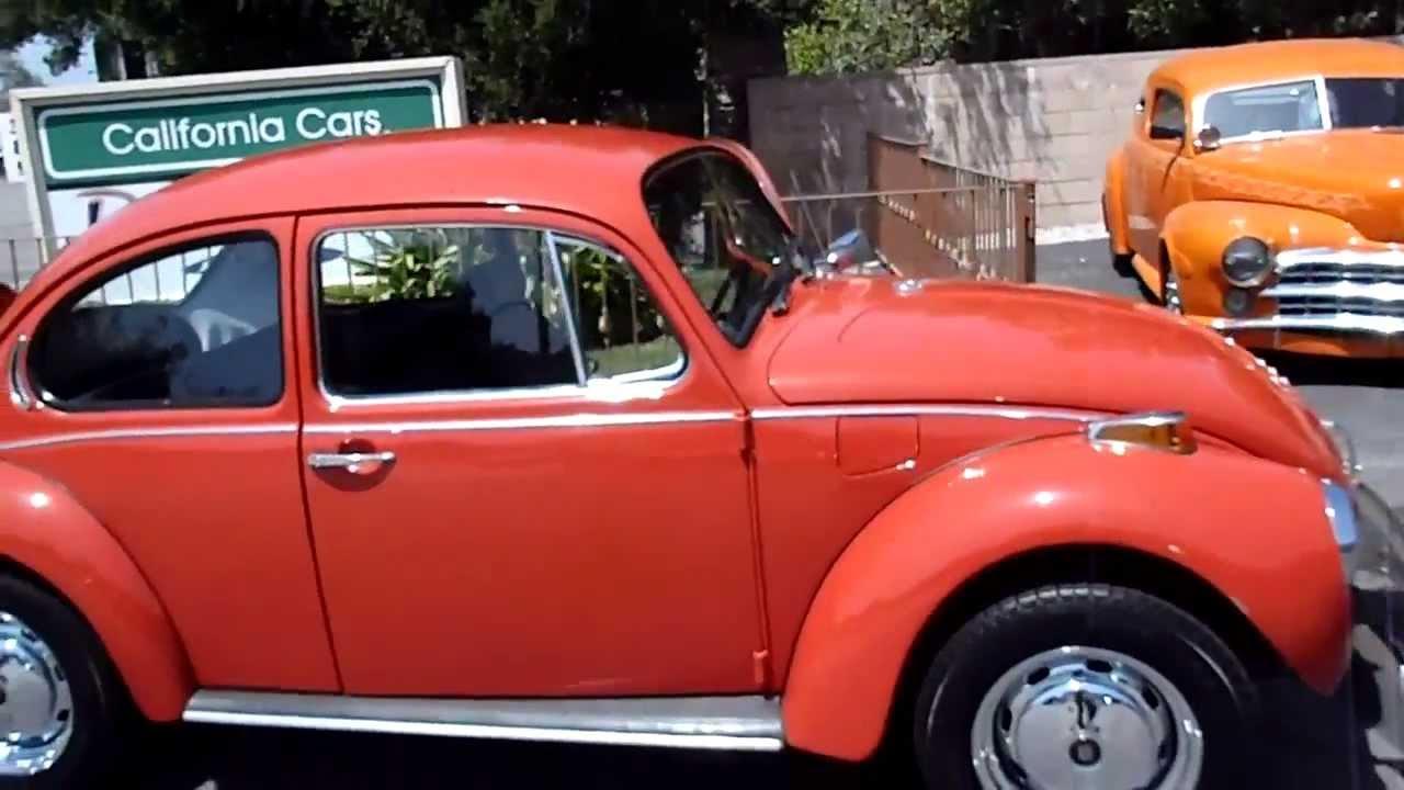 1971 Volkswagen Super Beetle - YouTube
