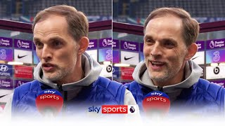 Thomas Tuchel reacts to Chelsea's withdrawal from Super League & Stamford Bridge protests