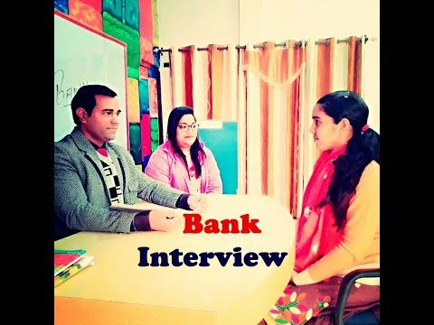 Bank Interview in English & Hindi - Bank Interview Questions and Answers - Interview of Banking