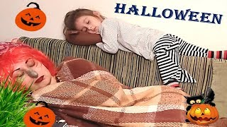 Kids Halloween and Are you sleeping Brother John baby song.Nursery Rhyme with Nadine.